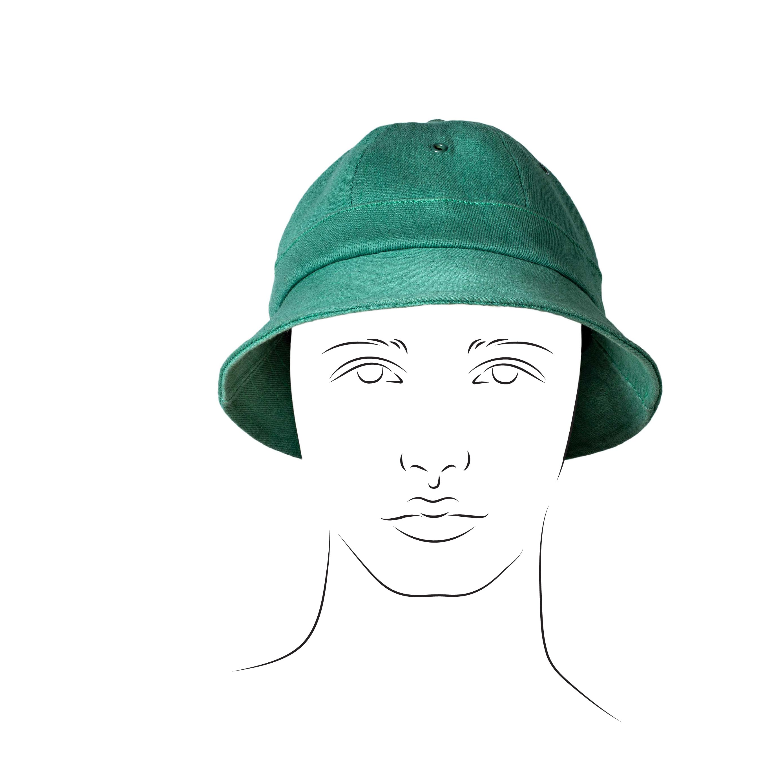 Six Panels Bucket Hat